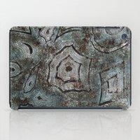 malachite iPad Cases featuring Malachite by RubenBer