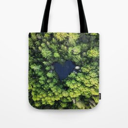 Love The Forest Tote Bag
