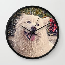 Angel In Disguise II Wall Clock
