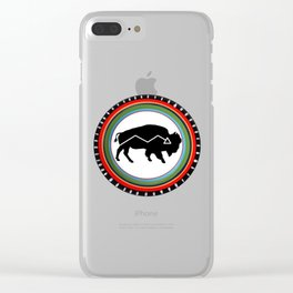 BISON PATH Clear iPhone Case