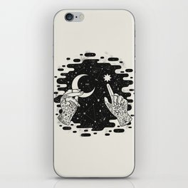 Look to the Skies iPhone Skin