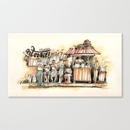 Kolkata Series 2 Canvas Print