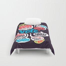 Vote! Comforters