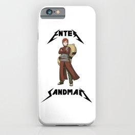 Enter Sandman Shinobi  iPhone Case