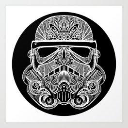 Sugartrooper Art Print