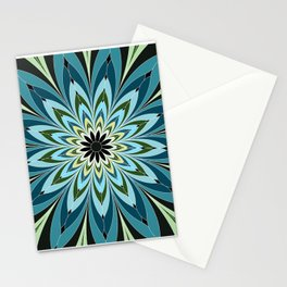 Duplicating Droplets Stationery Cards