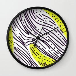 Neon Cichlid Wall Clock