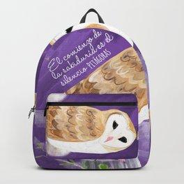 Totem Barn owl (GREFA) Backpack