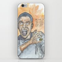 oitnb iPhone & iPod Skins featuring Poussey OITNB by Ashley Rowe