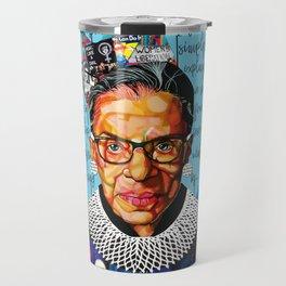 Ruth Ginsburg Travel Mug