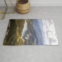 The downest lake Rug