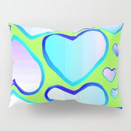 Garden of  hearts Pillow Sham