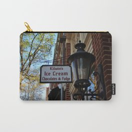 Ice Cream And Fudge Shop Carry-All Pouch