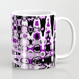 Black Purple marble Design Coffee Mug