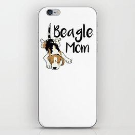 Beagle Mom iPhone Skin