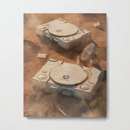 SpaceStation 1 Metal Print