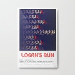 Logan's Run (1976) Metal Print