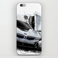 bmw iPhone & iPod Skins featuring BMW i8 by an.artwrok