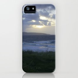 Gwithian Sunset iPhone Case