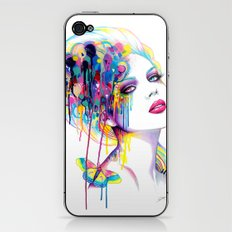 -In a perfect world- iPhone & iPod Skin