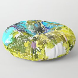 Find Your Way Back To The Beach Floor Pillow