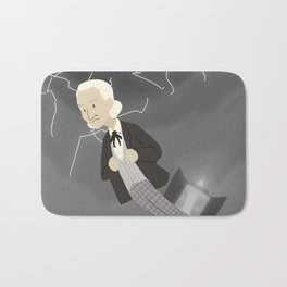 1st Doctor in the Time Vortex Bath Mat