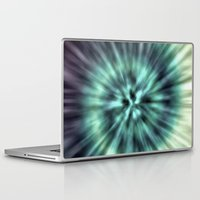 tie dye Laptop & iPad Skins featuring TIE DYE II by Nika