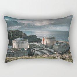 Nuclear Power Plant Rectangular Pillow