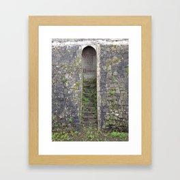 Ancient Doors Framed Art Print