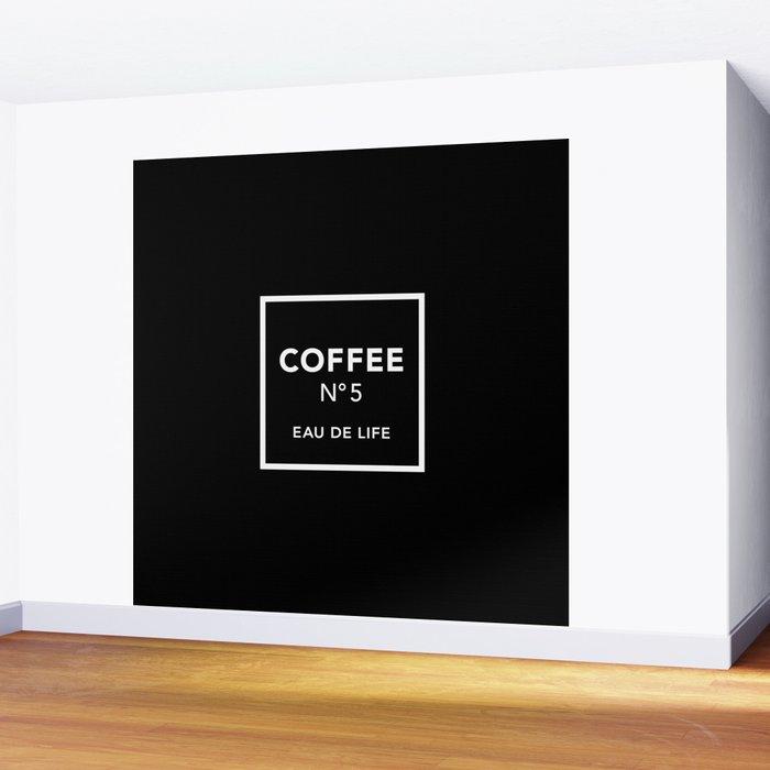 Black Coffee No5 Wall Mural