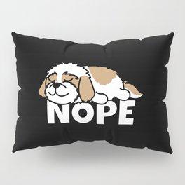 Lazy Shih Tzu Pillow Sham