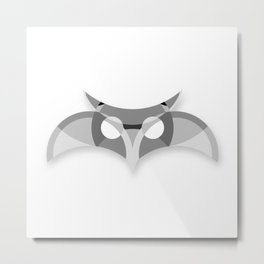 Grey Owl Metal Print