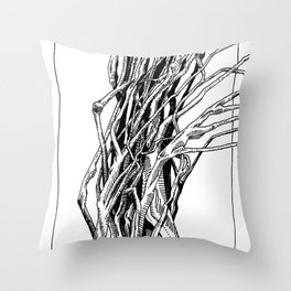 Group of Branches Throw Pillow
