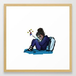 For Dad Framed Art Print