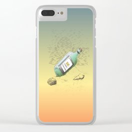 New Message Clear iPhone Case