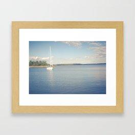 Morning on Chesapeake Bay Framed Art Print