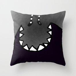 Monster. Throw Pillow