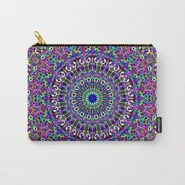 Happy Bohemian Jungle Mandala Carry-All Pouch