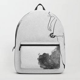 Disappear in yourself. Backpack