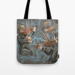 Music is in the Air Tote Bag