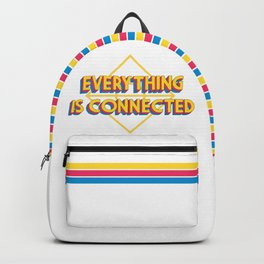Everything is Connected Backpack