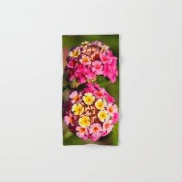 Lantana flowers Hand & Bath Towel
