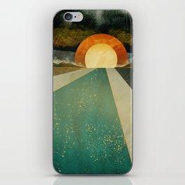 Retro Sunset iPhone Skin