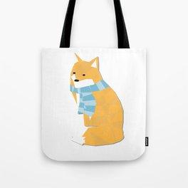 Cozy Fox Tote Bag