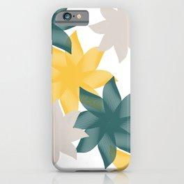 Vectorial Flowers iPhone Case