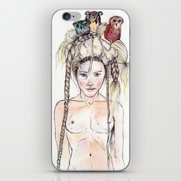 Owls in the head iPhone Skin