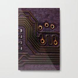 Robot Parts Metal Print