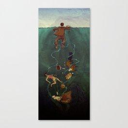 At Sea. Canvas Print