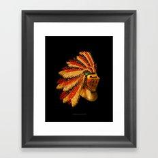 Indian Knight 129WP Framed Art Print