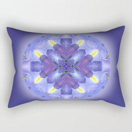 Harmony Mandala for your Inner Peace Rectangular Pillow